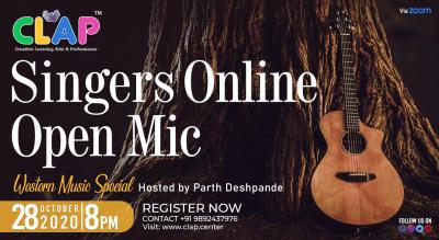 Online Singers Open Mic - Western Special