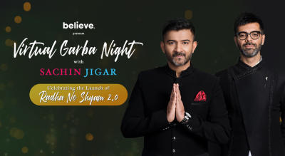 Virtual Garba Night with Sachin Jigar