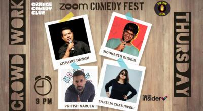 Crowd Work Show - Ft. Shreeja, Siddharth Dudeja, Kishore Dayani, Pritish
