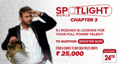 Spotlight Chapter 3 - India's biggest online talent hunt - Auditions