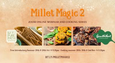MILLET MAGIC 2 Cooking Series