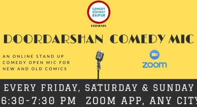 Doordarshan Comedy Mics