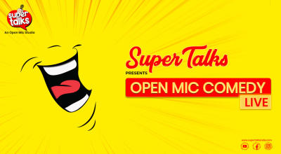 Supertalks Open Mic
