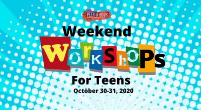 Peek A Book Weekend Workshops For Teens