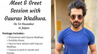 Meet & Greet with Television Actor Gaurav Wadhwa