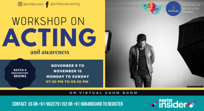 Online Acting Workshop-Art Liberates