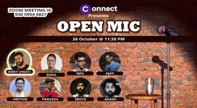 Connect Comedy Open Mic