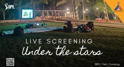 Horror Movie Under the Stars @Tents N' Trails