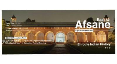 Raat ke Afsane - Night walk in Red Fort