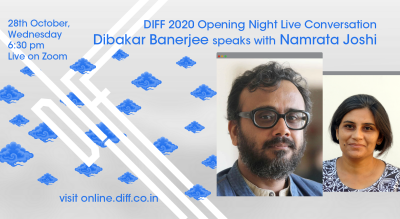 Live Conversation with Dibakar Banerjee