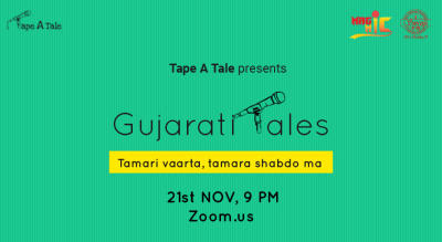 Gujarati Tales | A Storytelling Event by Tape A Tale