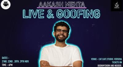 Aakash Mehta Live & Goofing