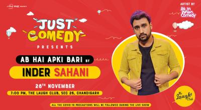 Just Comedy Presents Inder Sahani
