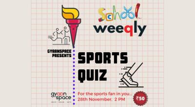 Gyaanspace Sports Quiz- School Edition (Open to School Students Only)