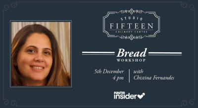 Studio Fifteen | Bread Workshop with Chef Christina Fernandes