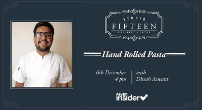 Studio Fifteen | Hand Rolled Pasta with Chef Divesh Aswani