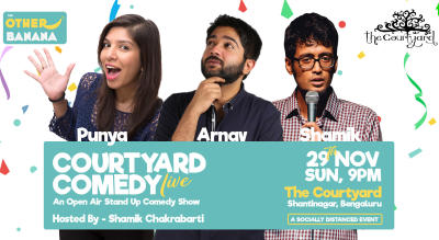 Courtyard Comedy Live 2.0