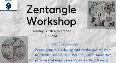 Meditative Art Workshop: Zenatangling