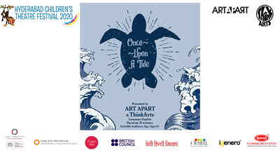 """Hyderabad Children's Theatre Festival 2020 Presents """"Once Upon A Tide"""""""