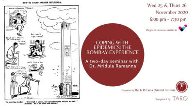 Coping with epidemics: The Bombay Experience