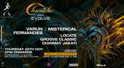 Evolve at Chronicle 26.11.2020