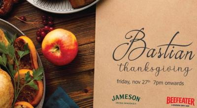 Thanksgiving Dinner at Bastian!