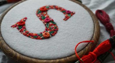 Masterclass on Letter Embroidery