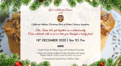 Christmas Party with California Walnuts