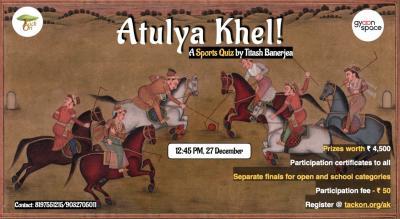 Atulya Khel! | Sports Quiz By TackOn & Gyaanspace