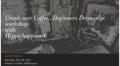 Create over Coffee! In Person: Beginners Decoupage Workshop