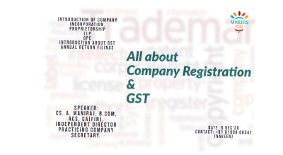 All About Company Registration & GST