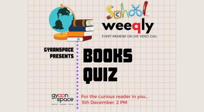 School Weeqly-  Books Quiz (School Edition)