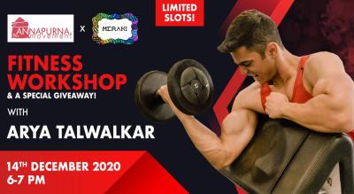 Fitness Workshop with Arya Talwalkar