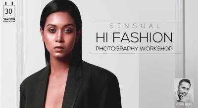 SENSUAL FASHION PHOTOGRAPHY WORKSHOP : BANGALORE