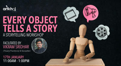 Every Object Tells A Story - Online Storytelling Workshop