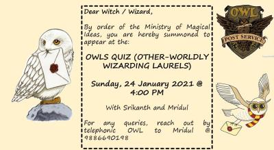 Other-Worldly Wizarding Laurels - A Harry Potter Quiz