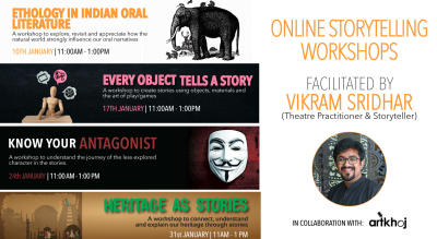 Online Storytelling Workshops by Vikram Sridhar