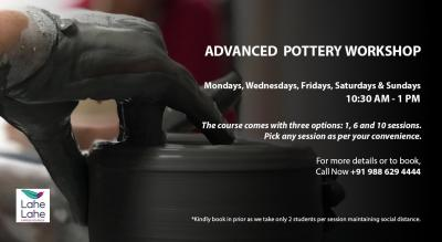 ADVANCED POTTERY WORKSHOP