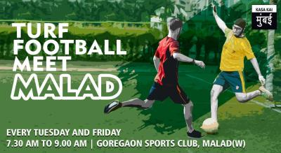 Turf Football Meet At Goregaon Sports Club, Malad West