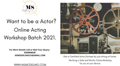 Online Acting Workshop