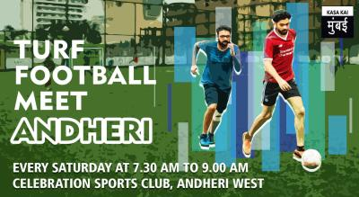 Turf Football Meet At Celebration Sports Club, Andheri West