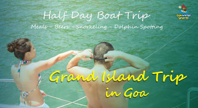 Grand Island Trip in Goa - Snorkeling, Dolphin, Meals, Boat Ride
