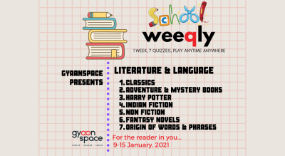 The Literature & Language Quiz Series for School Students (Open till January 15th 11:59 PM)