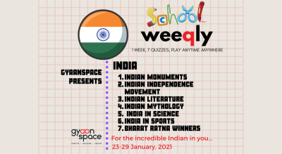 The India Quiz Series for Schools (Open till 29th January 11:59 PM)