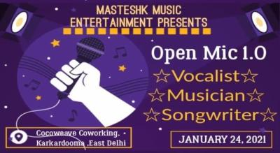 Masteshk Music Open Mic ( Delhi Open Mic Event ) Register Now