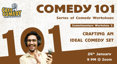 Crafting An Ideal Comedy Set : Workshop