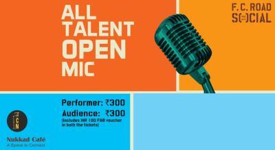 All Talent Open Mic