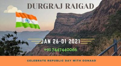 Celebrate Republic Day with Oonaad on Raigad Fort Trek