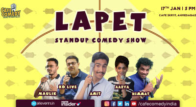 LAPET : Standup Comedy Show by Cafe Comedy