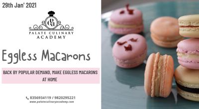 Eggfree Macarons with Rakhee Vaswani